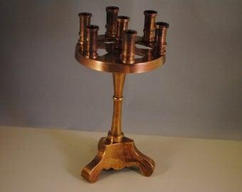 Vintage solid  brass,candlestick,candelabra,