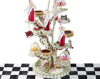 Alice Tree Shaped CupCake Stand