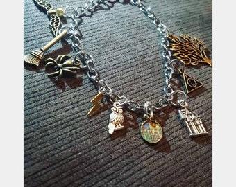 FanWear: Harry Potter inspired charm bracelet