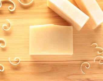 Goat's Milk Handmade Soap, Natural Soap, Unscented Soap, Wedding Favor, Baby Shower Favor, Cold Process Soap, Made in Michigan