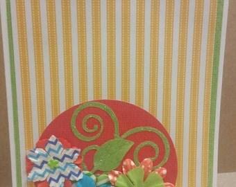 Yellow stripe Card