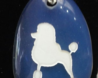 French Poodle Pendant