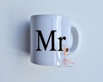 His mug, Wedding gift, Coffee mug, Tea mug, Gift idea