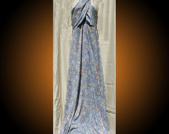 Vintage 1970s Floor Length Gown