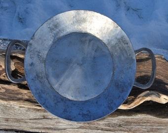 handforged frying pan (small), handgeschmiedete Pfanne, Lagerfeuer, Campfire