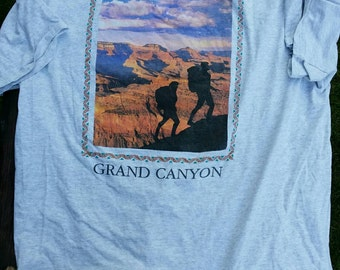 VINTAGE GRAND CANYON tee shirt/tourist tshirt/Grand canyon shirt/Indian country tshirt/1980s tshirt/1980s grand canyon shirt