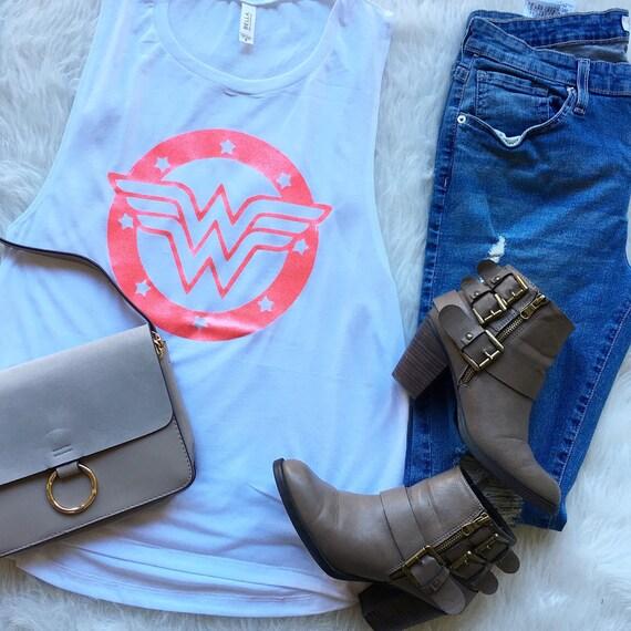 Wonder Woman / Statement Tank / Graphic Tank / Statement Tee / Graphic Tee / Statement Tshirt / Graphic Tshirt / T shirt