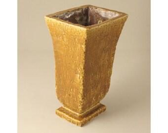 Gunnar Nylund, Rorstrand, Sweden. Art Deco Chamotte Vase, Scandinavian Art Pottery