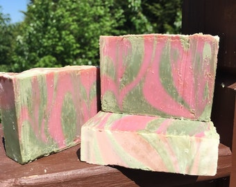 Rose Jam Type Cold Process Soap
