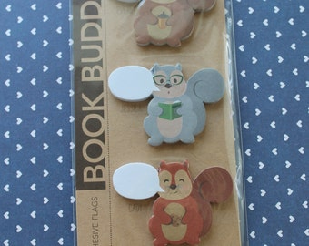 Book Buddies Writable Adhesive Page Flags