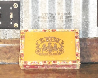 El Roi-Tan Mild Cigars Box Vintage Cigar Box