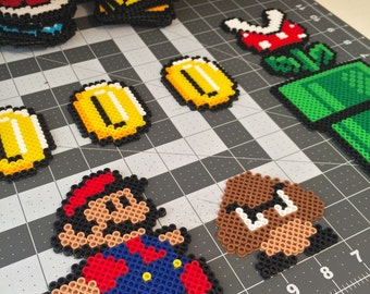 Super Mario Fridge Magnet Set (22 pcs.)