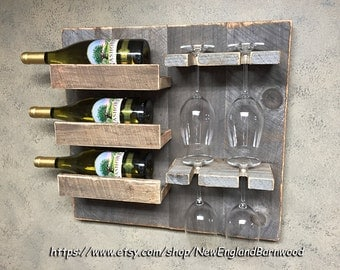 Decorative Wall Wine Rack wine rack | etsy