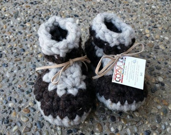Hot Chocolate - Leather Soled Booties