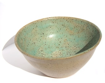 Sea Foam Speckled Bowl