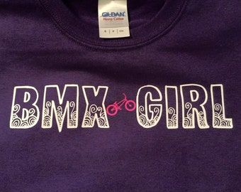 Youth BMX Girl Shirt
