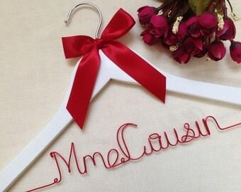 Wedding Hanger,Bridal Hanger,Name hanger,Bride hanger,Dress Hanger Wire,Personalized Custom Wedding Hanger,Personalized Hanger,bridal gift