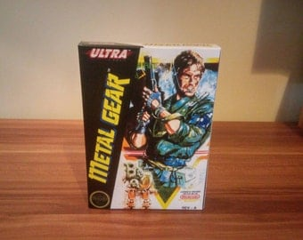 NES Metal Gear - Replacement Box NO Game Included