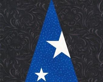Sorcerer's Apprentice Wizard Hat - Disney - Fantasia - Quilt Block Pattern - Foundation Paper Piece Patch - PDF Download