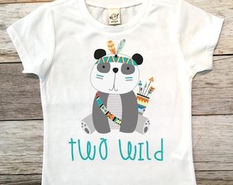 Two Wild Birthday Shirt, 2nd Birthday Shirt, 2nd Birthday Boy Shirt, Boys Birthday top, Birthday shirt, Second Birthday Boy Shirt