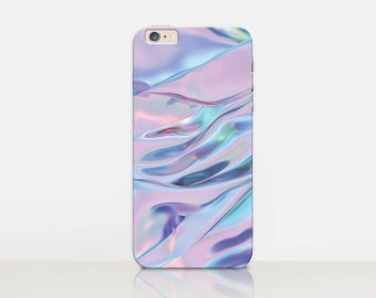 Holographic Printed Phone Case For - iPhone 8, 8 Plus, X, iPhone 7 Plus, 7,  SE, 5, 6S Plus, 6S, 6 Plus, Samsung S8, S8 Plus, S7, S7 Edge