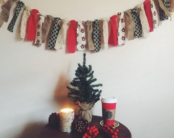 Holiday Fabric Banner