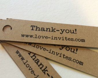 Product labels | Shop tags | product thank-you tags | favor tags | custom thank you | thankyou tags | bonbonniere tag | wedding favor