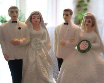 Wedding Cake Topper Lefton Wedding Cake Topper Vintage