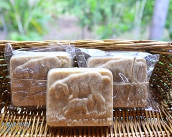 Oatmeal Stout Goats Milk soap - Handmade