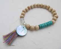 Beach bracelet, summer jewelry