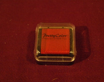 Paper Color Stamps  Red