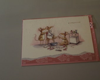 Pampered Mice Card