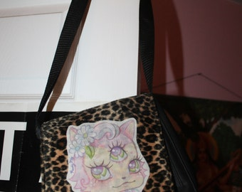 upcycled kitty bag