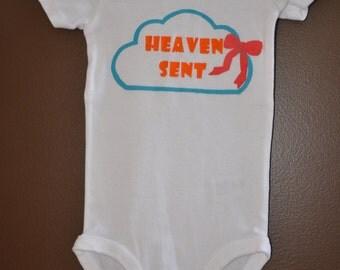 Handpainted baby onsie / bodysuit