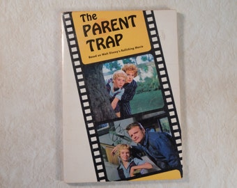 1968 'The Parent Trap' Novel with Movie Pictures and Information
