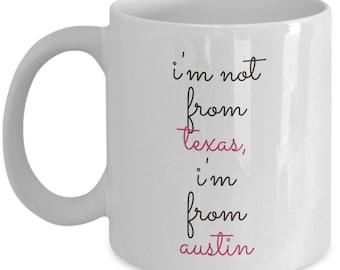 Austin, Texas Ceramic Coffee Mug