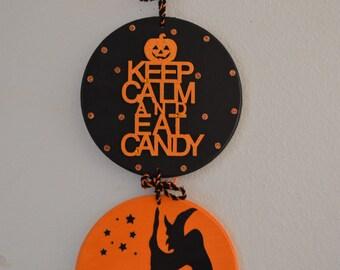 Halloween Decor, Halloween wall sign