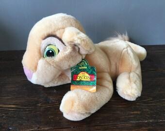 Appaluse Baby Nala Beanbag / Lion King Disney Plush Lion