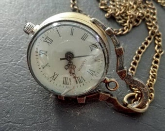 Necklace watch steampunk