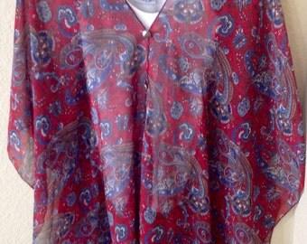 2 Ways Kimono poncho