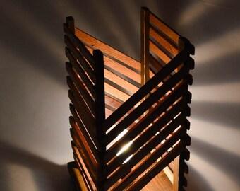Wood Table Lamp, Table Lamp, Desk Lamp, Wood Floor Lamp, Rustic Lamp, Wood Desk Lamp, Home Decor, Handmade Lamp, Wood Lamp, Wooden Lamp