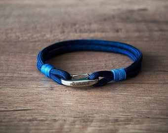 Sailor Bracelet men-Women, jewelry for men women, nautical bracelet midnight blue-blue, Christmas gift, bracelet for her and him