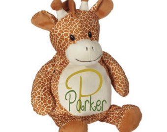 Embroidered Giraffe