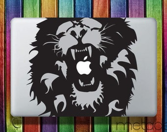 "Lion Macbook Sticker for 13"" Apple Macbook - laptop stickers, macbook stickers, macbook decals, macbook sticker, macbook pro stickers"