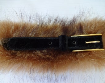 Past-belt recycled fur!