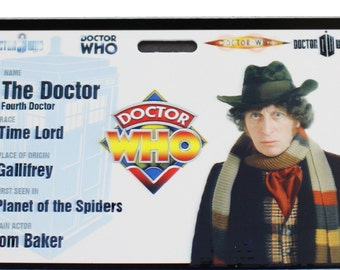 Doctor Who Tom Baker Prop ID Badge