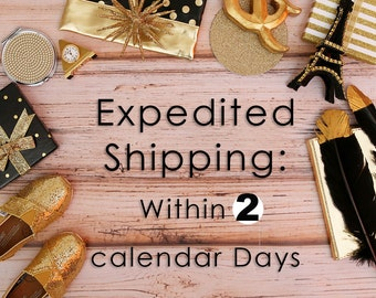 Rush My Order--Ships within 2 Calendar Days