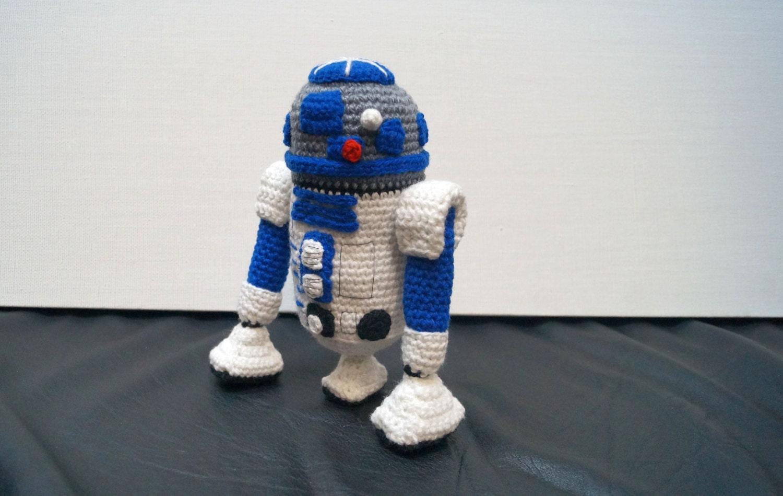 Pdf PATTERN : Mini C3PO and R2D2 droids Star Wars robot | Etsy | 949x1500