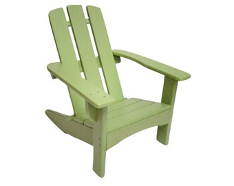 Child Size Adirondack Chair. Made from Poly Wood