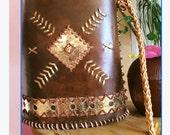 Bucket bag, Chimayo style bag